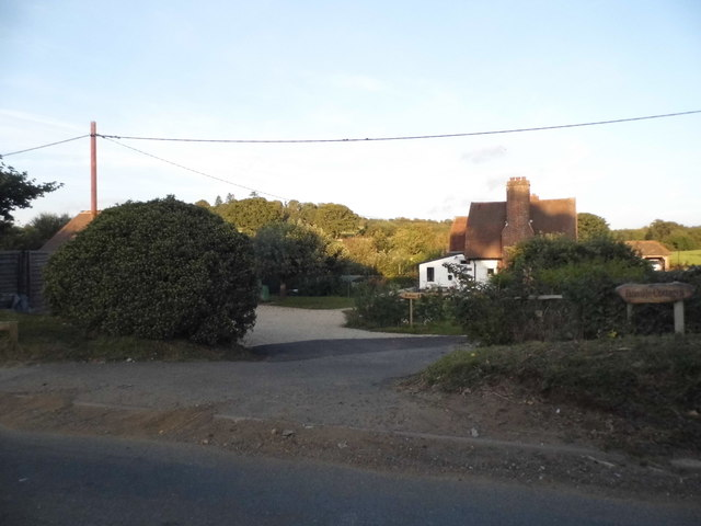 Farinside Cottage on Hound House Road, Shere