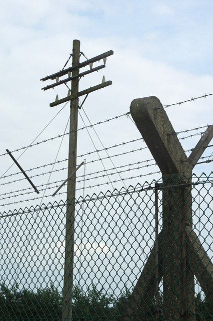 Rugby Radio Station - perimeter fence