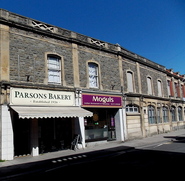 Parsons Bakery and Moguls in Clevedon