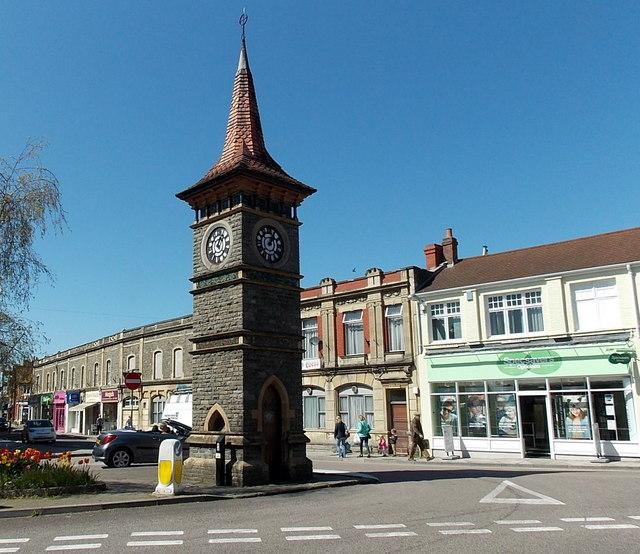 Diamond Jubilee Clock Tower in Clevedon