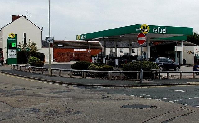 Morrisons Refuel in Oswestry