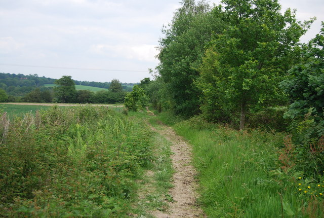 Bridleway to Great Cansiron Farm