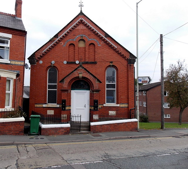Former Penuel Chapel in Oswestry