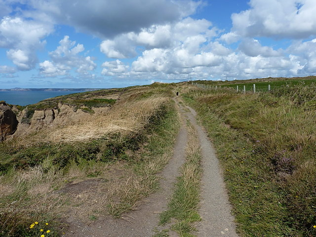 Coast Path near Haroldston West