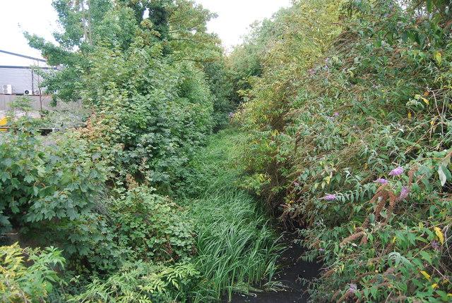 Water channel by Moorbridge Rd