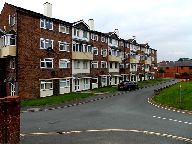 Crestwood Court, Oswestry