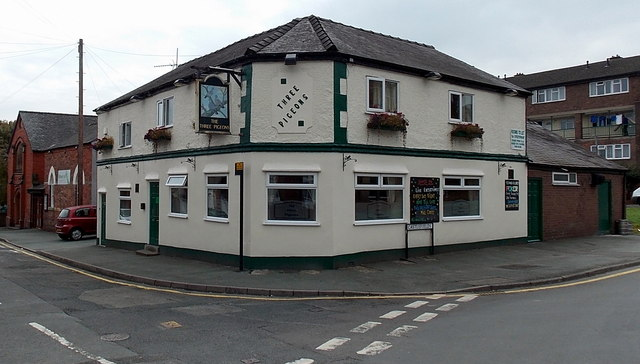 The Three Pigeons, Oswestry