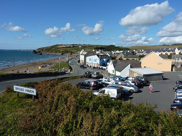 Looking over Broad Haven from the south