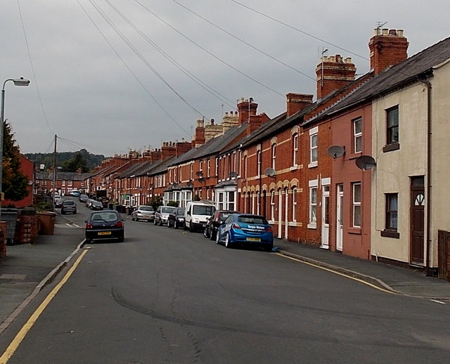 Albert Road, Oswestry
