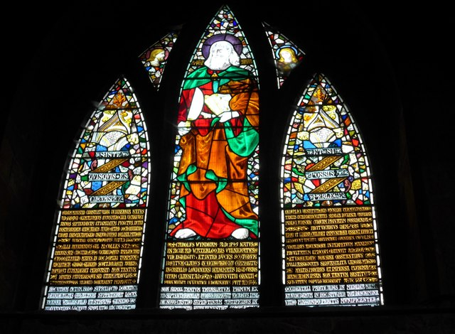 St Mary, Melton Mowbray: stained glass window (E)