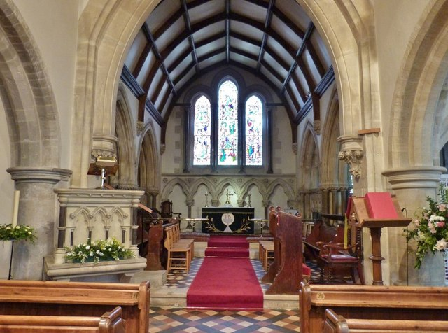 The Chancel, St. Mary's Church, Funtington, West Sussex