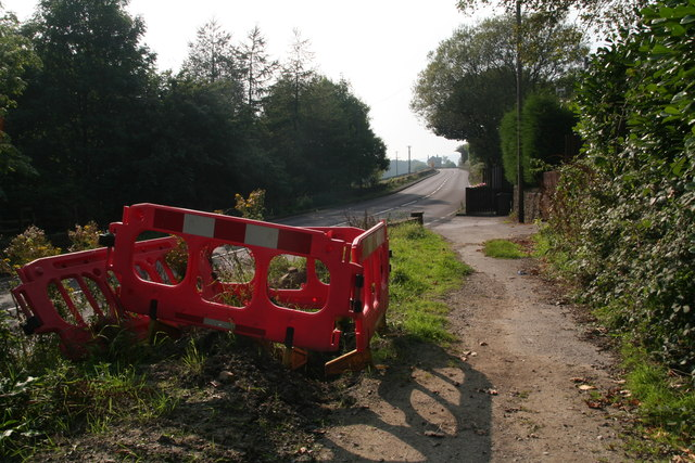 Back to reality: Pennine Way crossing the A628