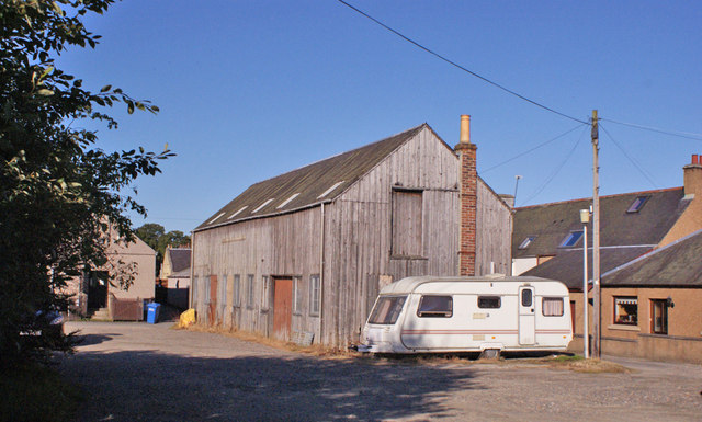 Timber building, Beauly