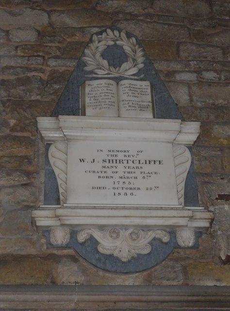 St Mary, Melton Mowbray: memorial (8)