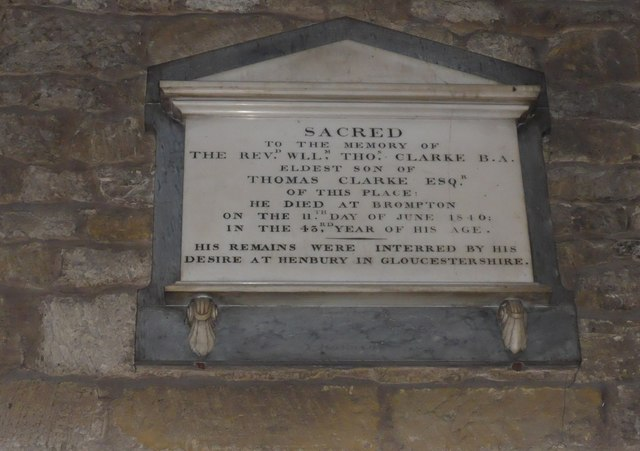 St Mary, Melton Mowbray: memorial (12)