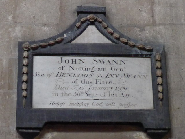St Mary, Melton Mowbray: memorial (13)