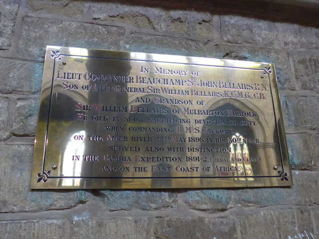 St Mary, Melton Mowbray: memorial (13)