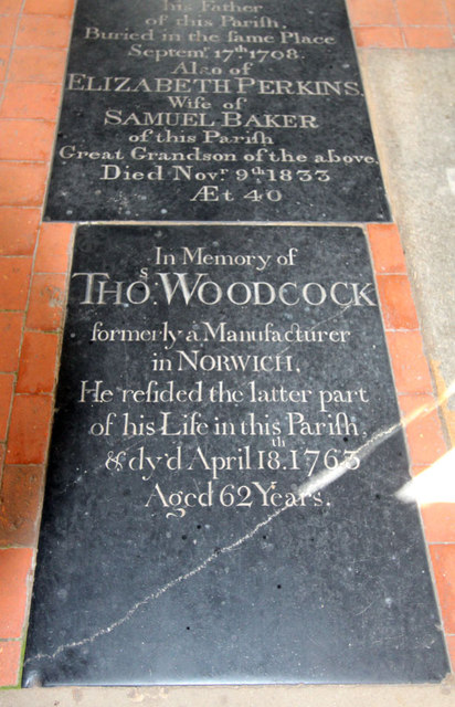 St Peter & St Paul, Knapton - Ledger slab