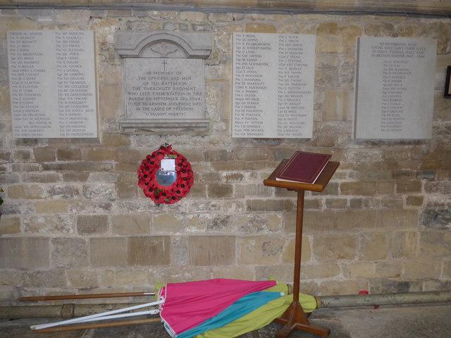 Inside St Mary, Melton Mowbray (I)