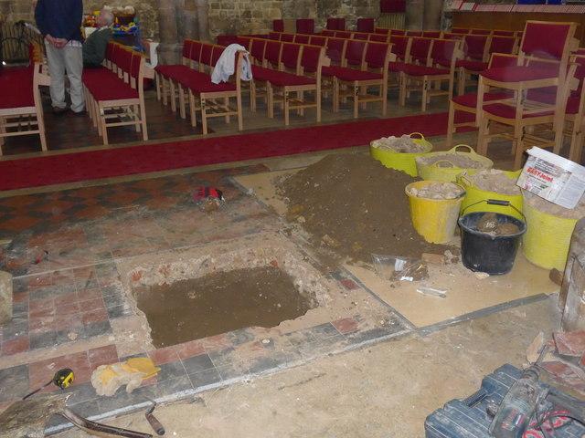 Inside St Mary, Melton Mowbray (II)