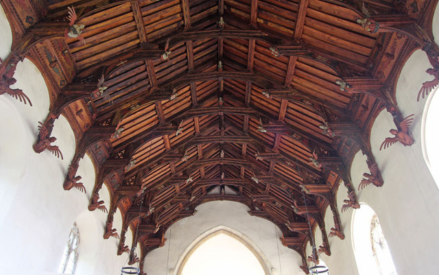 St Peter & St Paul, Knapton - Roof