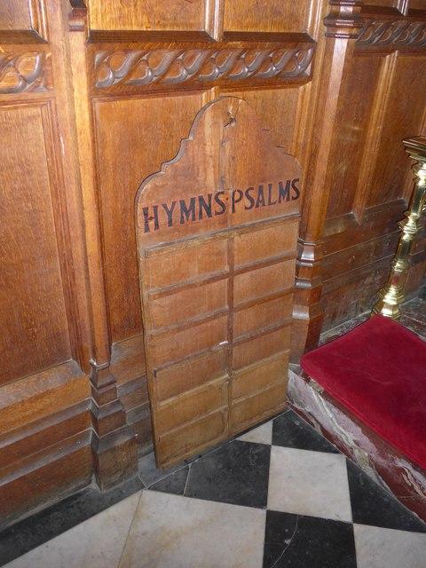 Inside St Mary, Melton Mowbray (V)