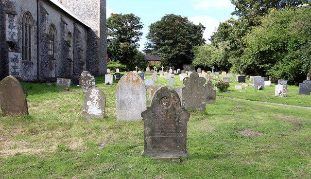 St Peter & St Paul, Knapton - Churchyard