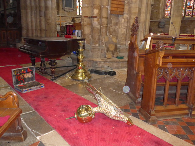 Inside St Mary, Melton Mowbray (VII)