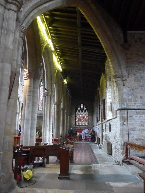 Inside St Mary, Melton Mowbray (XIX)