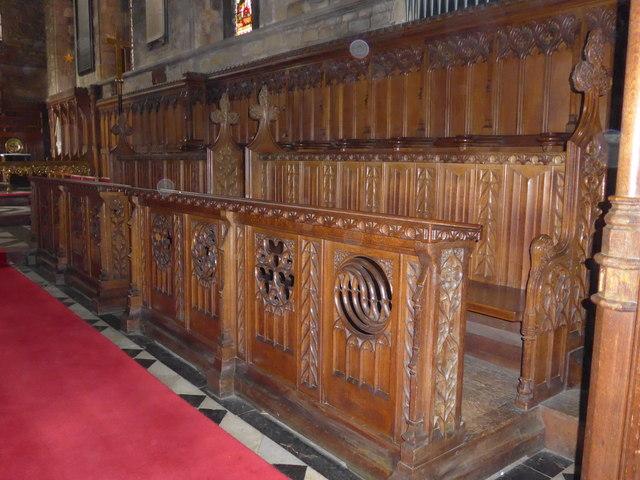 Inside St Mary, Melton Mowbray (IX)