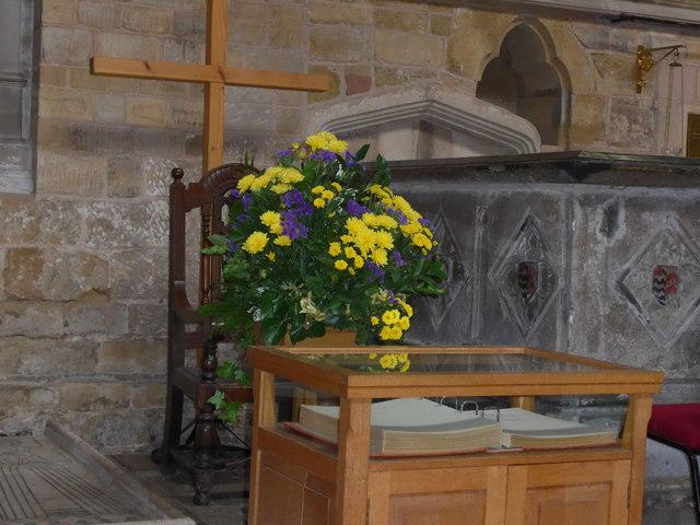 Inside St Mary, Melton Mowbray (X)
