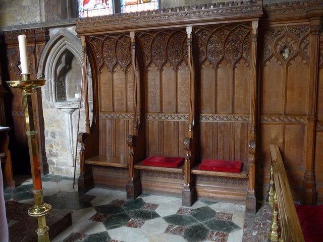Inside St Mary, Melton Mowbray (XI)