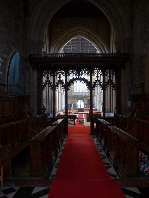 Inside St Mary, Melton Mowbray (XIII)