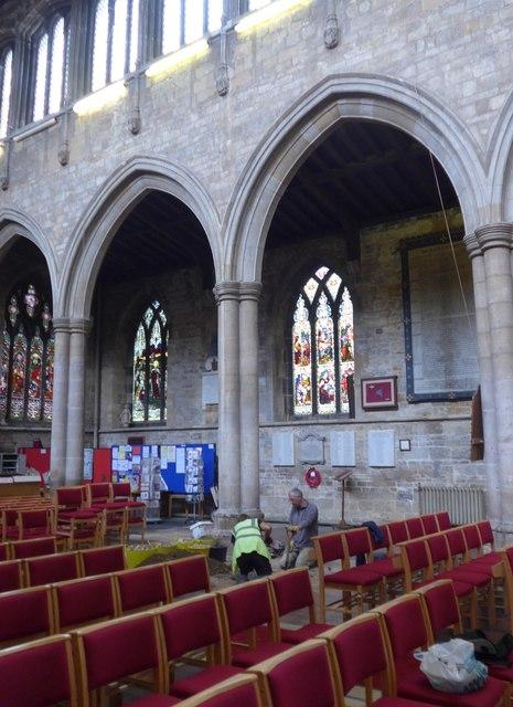 Inside St Mary, Melton Mowbray (XVI)