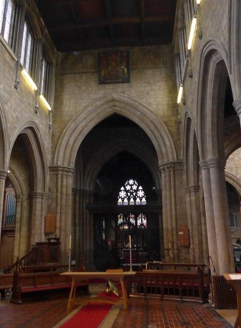 Inside St Mary, Melton Mowbray (XVIII)