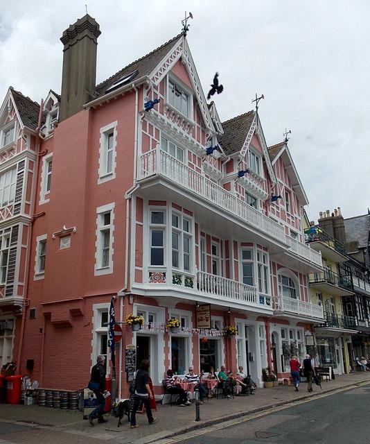 The Crab & Bucket pub, Dartmouth