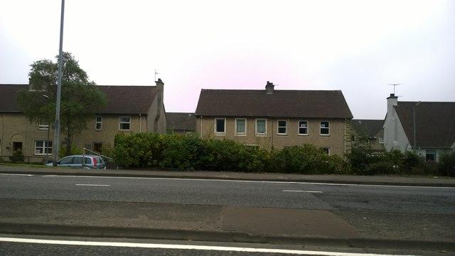Houses on Dumbuck Road, Dumbarton