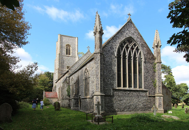 St Giles, Bradfield