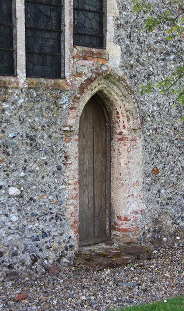 St Mary, Antingham - Doorway