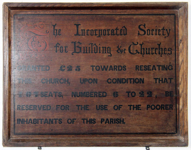 St Mary, Antingham - ISBC board
