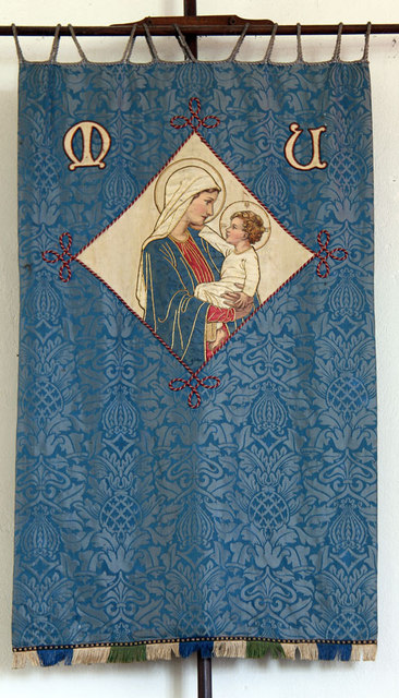 St Mary, Antingham - Mothers' Union banner