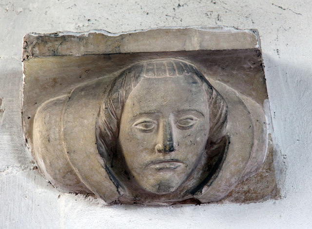St Mary, Antingham - Corbel