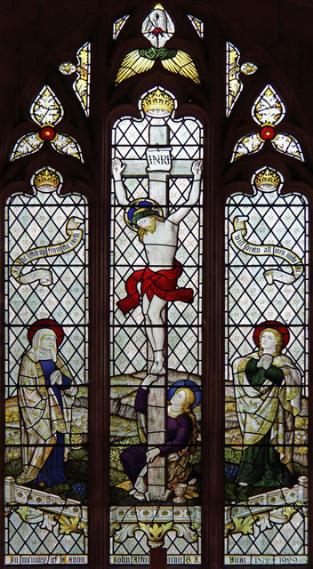St Nicholas, Dilham - Stained glass window