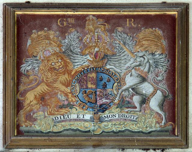 St Nicholas, Dilham - Royal Arms