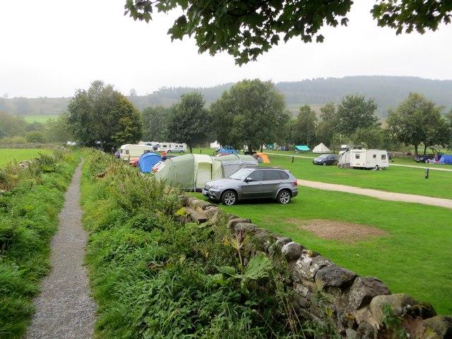 Campsite near Appletreewick