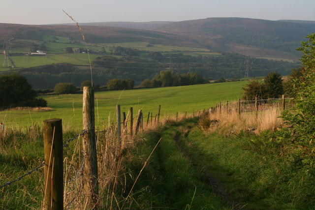 Path from Padfield connecting with the Longdendale Trail