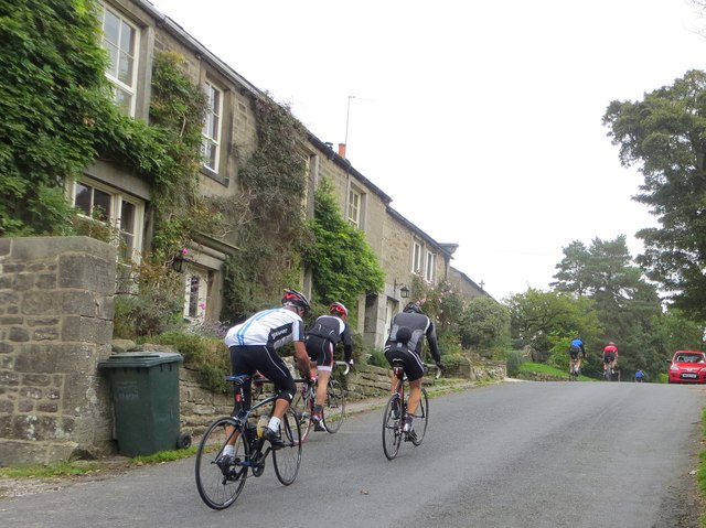 Cyclists in Appletreewick