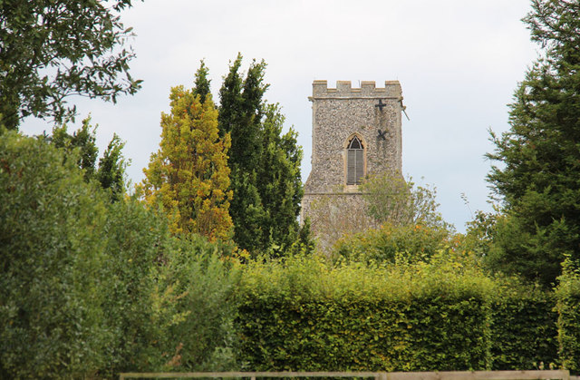 The Old Vicarage Gardens, East Ruston - East Ruston Church