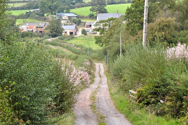 West Somerset : Moorhouse Lane