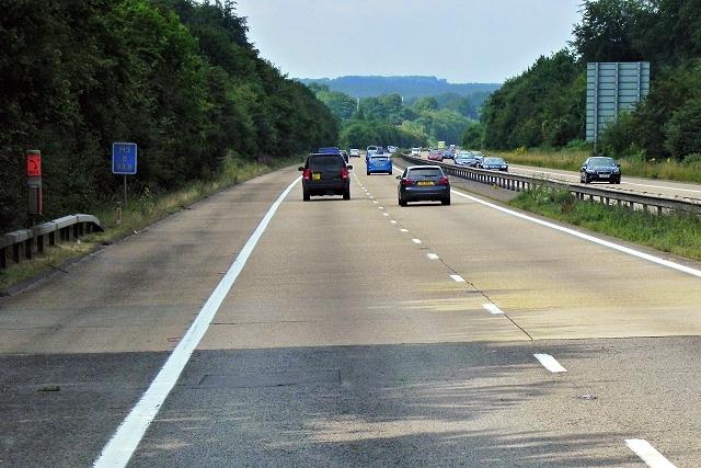 M3 through Micheldever Wood